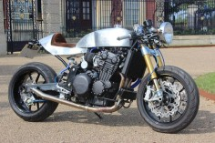 Triumph Trophy 900 by Brownies Cafe Racers Ltd