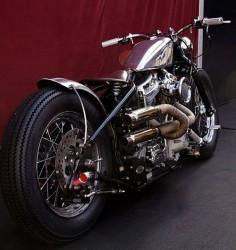 Type 5, Harley-Davidson bobber by Zero Engineering at theFestival automobile international 2012