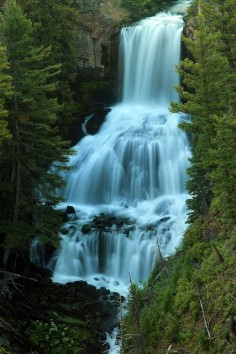 Undine Falls, Wyoming Home will always be Wyoming as well as my Indiana Home