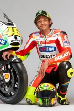 Valentino Rossi, Ducati Rider 2012
