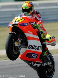 Valentino Rossi! MotoGP