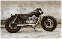 "Venier Customs '87 Moto Guzzi V35 C - ""Diabola"" - Pipeburn - Purveyors of Classic Motorcycles, Cafe Racers & Custom motorbikes"