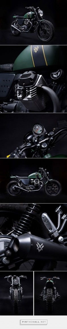Venier Customs' Moto Guzzi 'Tractor 03' Click to read the full story