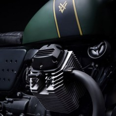 VENIER'S 'TRACTOR 03′: A MOTO GUZZI V7 SCRAMBLER