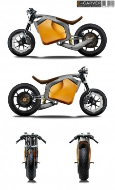 Very cool stuff, addign to my list! E-Carver Electric Racebike Concept , electric vehicle, electric vehicle technology, electric vehicle motors, electric bicycle, electric