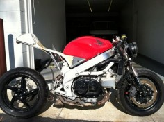 VFR CAFE RACER PROJECT
