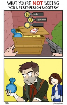 video game logic. click it for list and laugh until you cry.