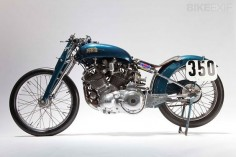 VINCENT MOTORCYCLE: THE 'BLUE BIKE'