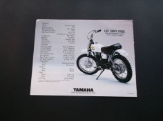 Vintage 1980 Yamaha MX80 Mini Bike Motorcycle Sales Brochure VG Cond | eBay