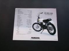Vintage 1980 Yamaha MX80 Mini Bike Motorcycle Sales Brochure VG Cond | eBay