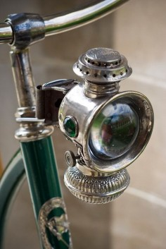 Vintage bicycle light!