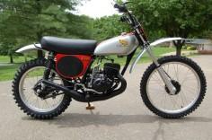 Vintage Factory - Vintage Honda Elsinore CR125. This was the dream bike in 1973.