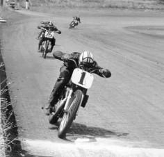 Vintage Motorcycle Flat Track Racing!