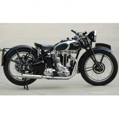 Vintage Triumph Motorcycle - Beautiful!