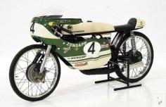 Vintage Zundapp Cafe Racer Motorcycle.