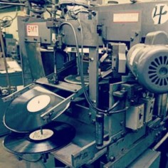 Vinyl Record production plant