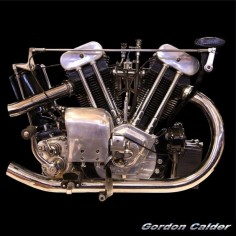 ◆ Visit MACHINE Shop Café ◆ (No. 119 ~ CLASSIC 1932 1,000cc BROUGH SUPERIOR SS100, by Gordon Calder, via Flickr, 3,000,000 Views!)