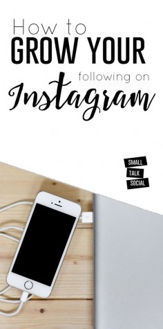 Want some actionable ways to grow your following on Instagram?! | Check out these 10 ideas for creating purposeful visual content for your business on