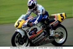Wayne Gardner (AUS) Rothmans Honda