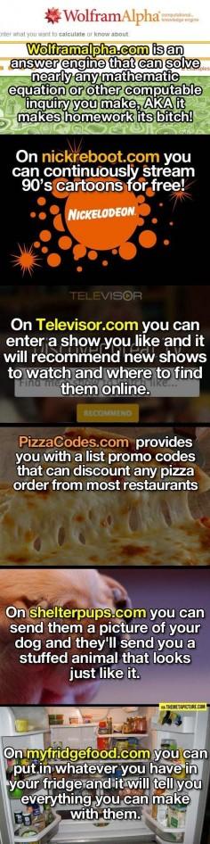 Websites you might enjoy