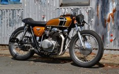 Welcome at Café Racers United! This is the place to learn, to be inspired and to enjoy Cafe Racers like this Honda CB250 Cafe Racer by Klassik Kustoms