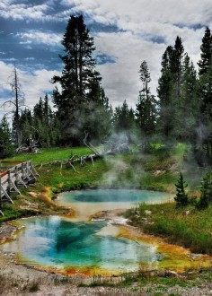 West Thumb - Yellowstone National Park - Wyoming, USA