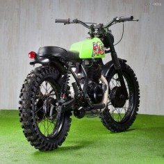 "We've used the term 'low-key' to describe Ad Hoc's David Gonzalez before. His latest release—an audacious Yamaha SR250—is anything but. This cheeky-looking scrambler was built to appeal to the urban and extreme sports sensibilities of its young owner. ""The first thing that came to mind… Read more »"