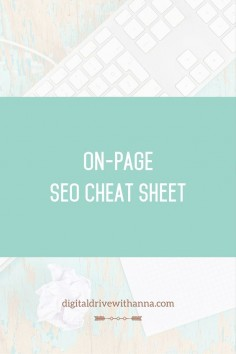 What is On-Page SEO and how is it different from Off-Page SEO? Learn the difference. Doing optimization of your website? Download On-Page SEO Cheat Sheet and make sure you follow all SEO essentials when you create a new page or blog