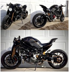 what the  Ducati monster cafe