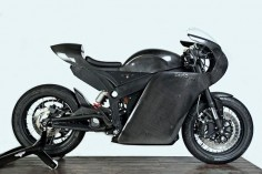 White Collar Bike Gives the Zero SR a Classic Racer Makeover. A custom electric motorcycle that could win over converts