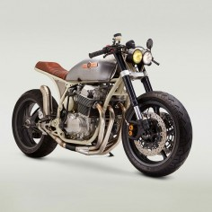 With a big bore kit and YZF-R6 suspension, this new Honda CB 750 from Classified Moto goes like a rocket. And it's painted to match one, too.