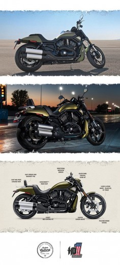 With drag-strip performance and street-smart style, they make a bold statement wherever they roll. | 2016 Harley-Davidson Night Rod Special