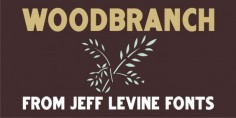 Woodbranch JNL font download