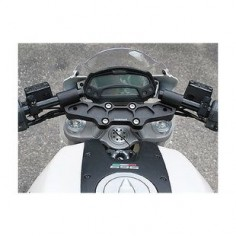 Woodcraft Clip-On Risers w/ Adapter Plate Ducati Monster 1100 / 796 / 696