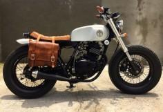 WOW! Suzuki Thunder 250 Brat Style MalaMadre Motorcycles. Awesome bike #motorcycles #bratstyle #motos |