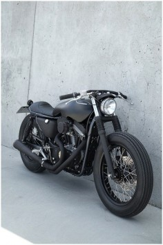 Wrenchmonkees | Harley Davidson Brat Style #motorcycles #motos #bratstyle |