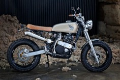 XR 600 Street Tracker - 66 Motorcycles - Custom 66 Streetracker & Cafe Racer