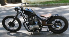 xs650 bored to 750 bobber