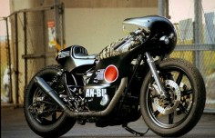XS650 Skull Tiger by An-Bu