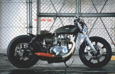 XS650 Yamaha custom motorcycle An-Bu