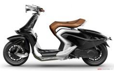 Yamaha '04GEN' Concept Scooter