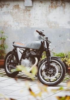 Yamaha Brat Style #motorcycles #bratstyle #motos |