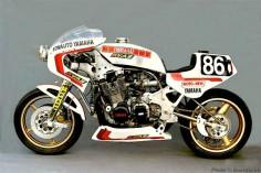 Yamaha endurance racer.