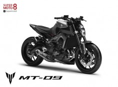 狂野街車 YAMAHA MT-09|SUPERMOTO8