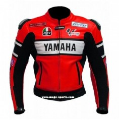 Yamaha  red racer Leather Jacket