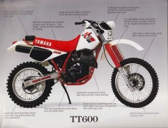 Yamaha TT 600 S #5
