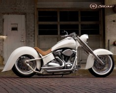 Yamaha V-Star. Pretty nice for an