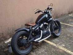 Yamaha Virago XV250 Bobber Motorcycle