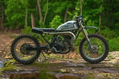 Yamaha WR500 Street Tracker by One-Up Moto Garage - Photos by Robert Crisp #motorcycles #streettracker #motos |