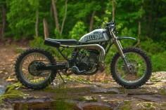 Yamaha WR500 Street Tracker by One-Up Moto Garage - Photos by Robert Crisp #motorcycles #streettracker #motos |